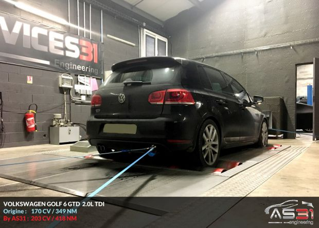 reprogrammation moteur volkswagen golf 6 2 0l tdi digiservices sud ouest. Black Bedroom Furniture Sets. Home Design Ideas